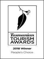 Tasmanian Tourism Awards Peoples Choice Winner 2018